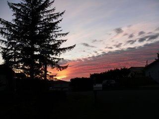 Oregon Sunsets and Art Shows