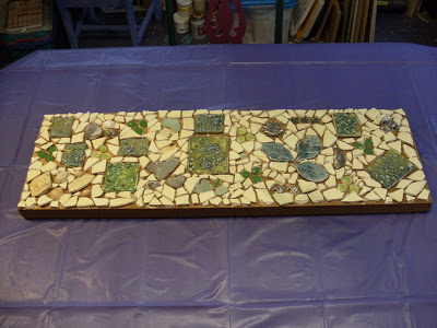 Mosaic in the Studio
