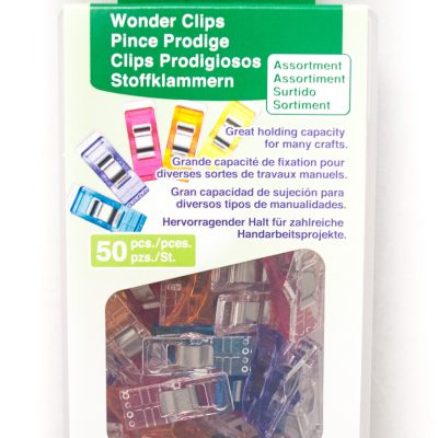 50 piece Wonder Clip set for use with the QuilTak quilt basting system.