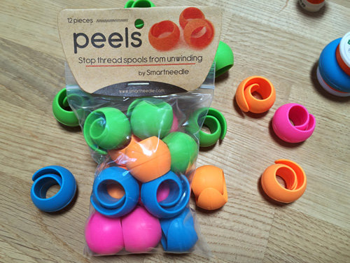 12 piece Peel set for use alongside our QuilTak quilt basting tools