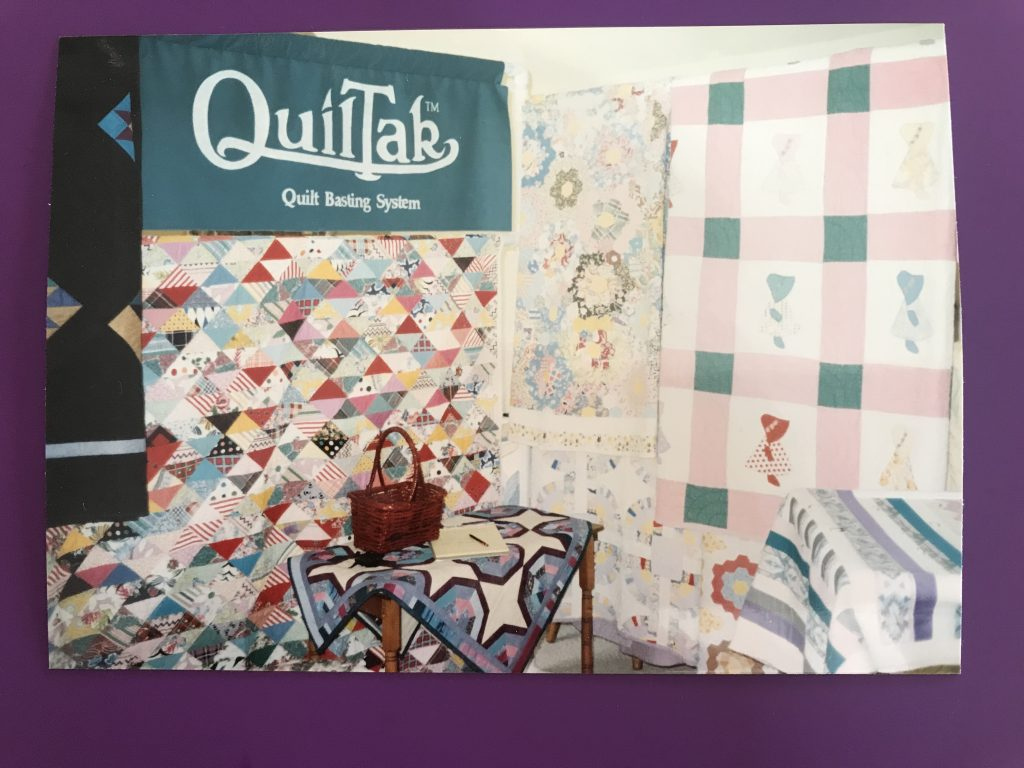 QuilTak Booth in Las Vegas, NV Quilt Show